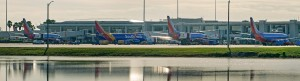 Southwest aircraft at Airside 2