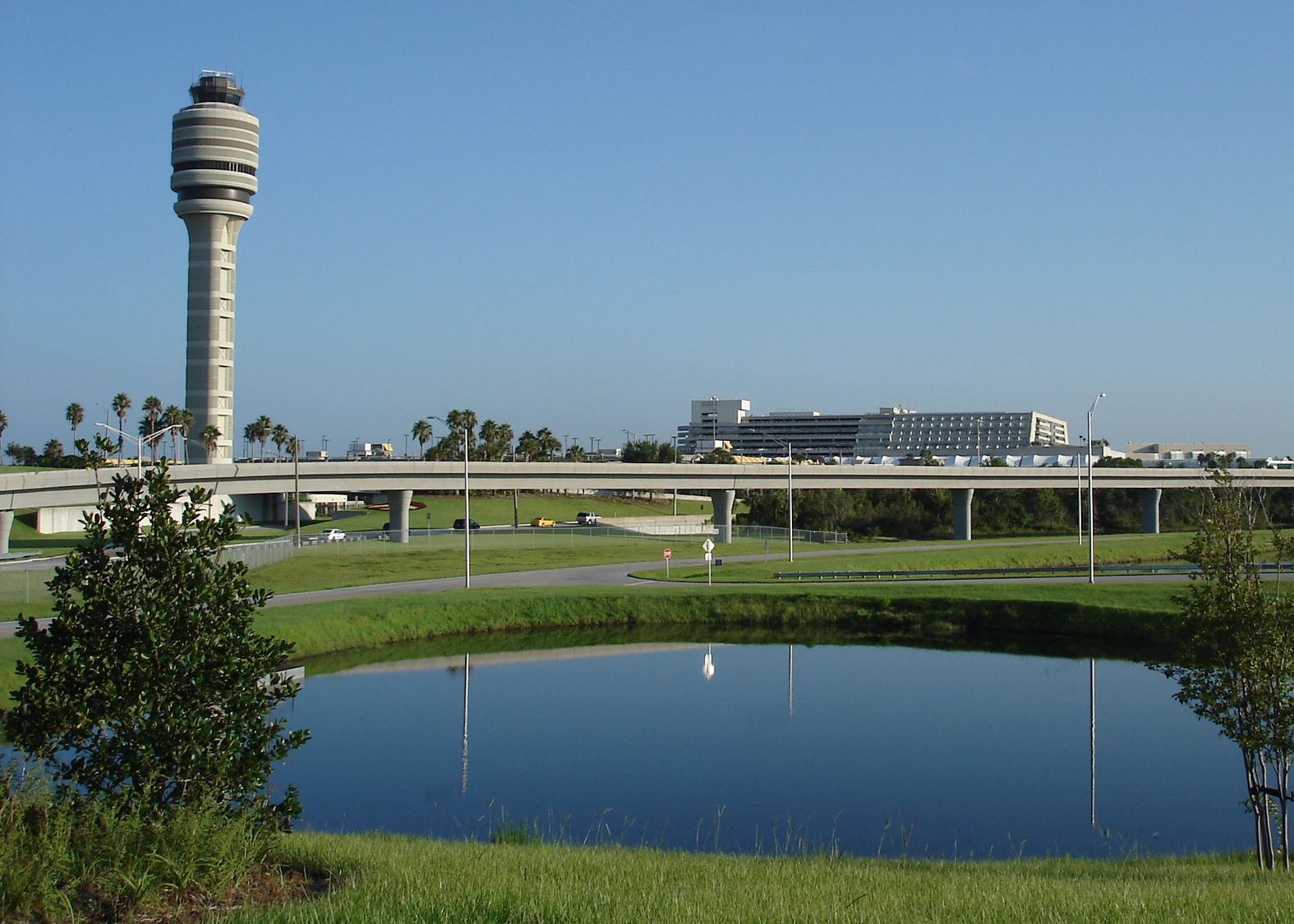 FAA Tower/Terminal Across Lake