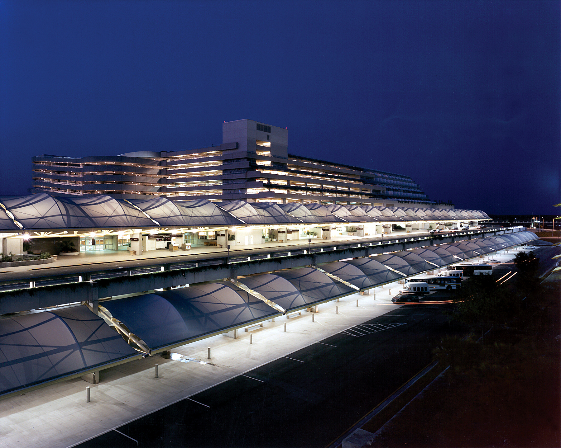 Terminal at Night