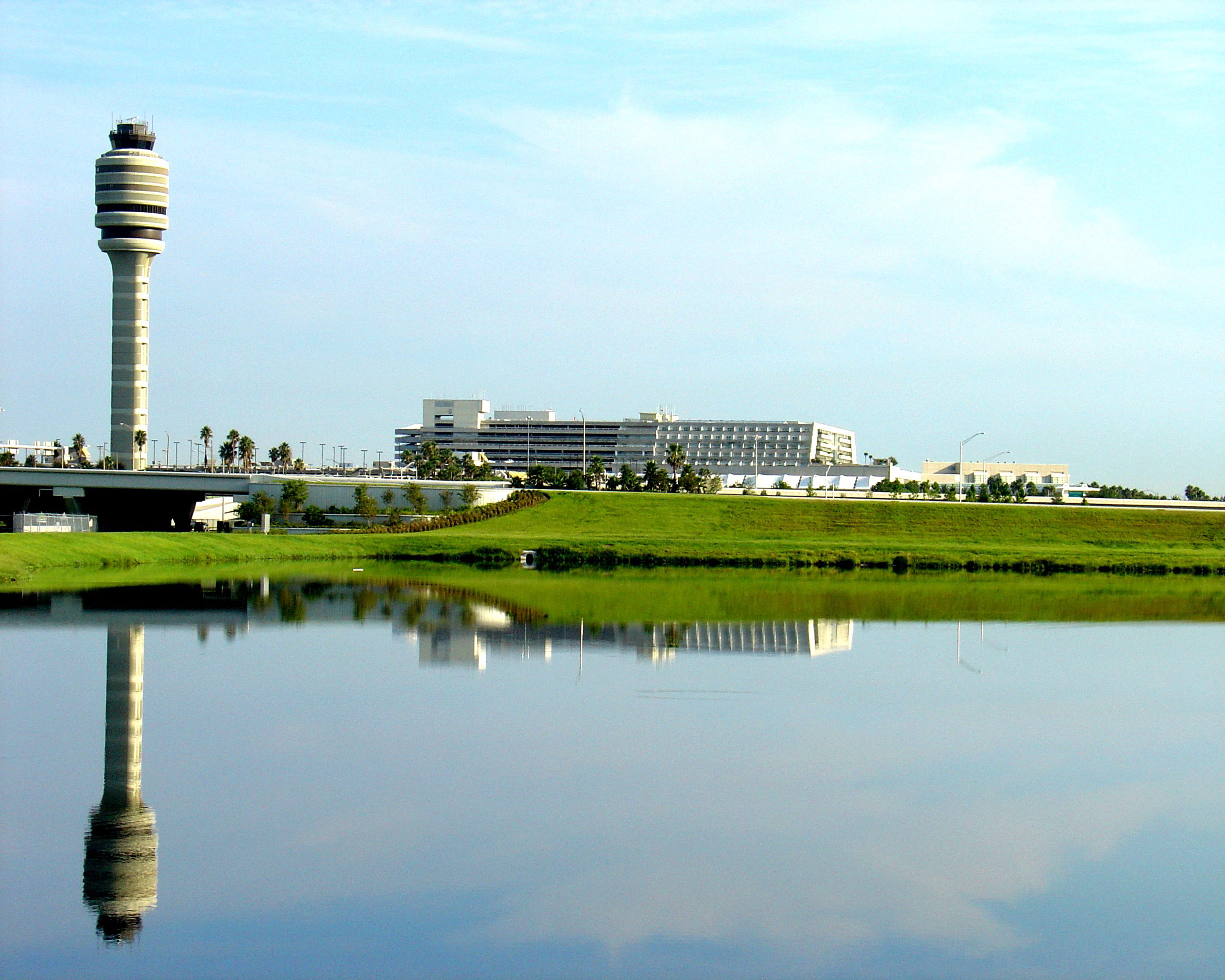 South Side of Terminal Reflected