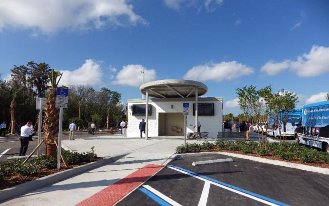 New North Cell Phone Lot Opens at Orlando International Airport