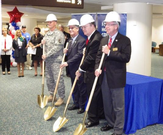 USO Ground-Breaking