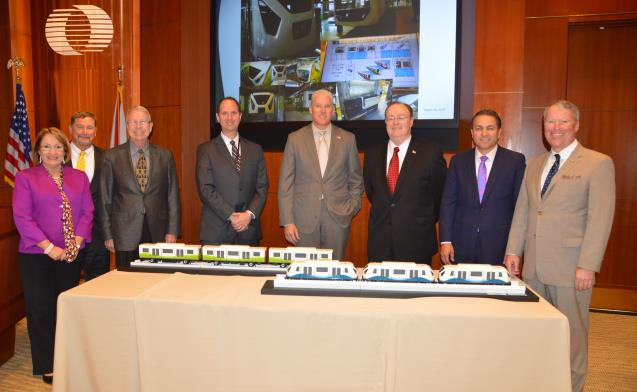 APM Trains Unveiled at Board Meeting