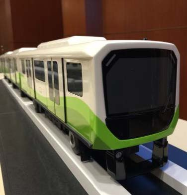 Future Automated Passenger Train Models Unveiled at Orlando International Airport