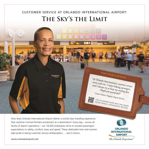 Orlando International Airport Recognizes Champions of Customer Service