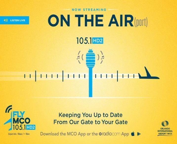 FlyMCO 105.1 HD2 Radio