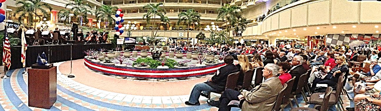 Libety Weekend in the Hotel Atrium