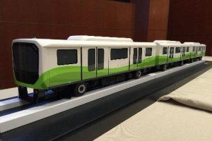 South APM Train Cars
