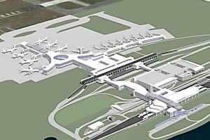 ITF and South Terminal Rendering