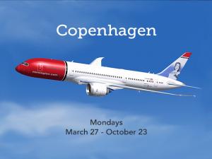 Norwegian resumes service to Copenhagen