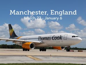 Fly Thomas Cook to Manchester, England