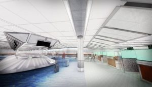 Expanded FIS Facilities for Customs and Immigration